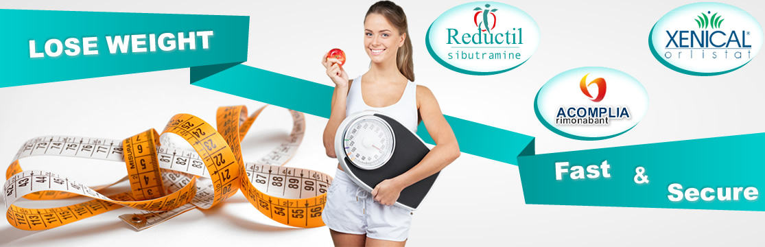 weight loss reductil meridia sibutramine acomplia xenical phentermine